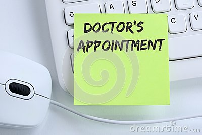Doctor`s medical appointment doctor medicine ill illness healthy Stock Photo
