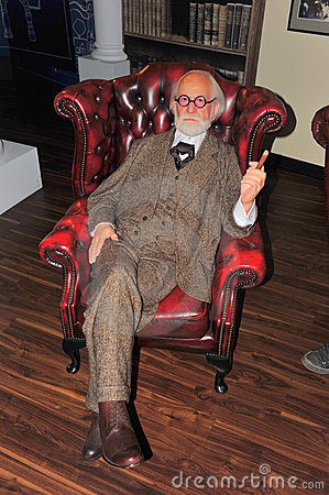 Doctor Sigmund Freud at Madame Tussaud's Editorial Photography