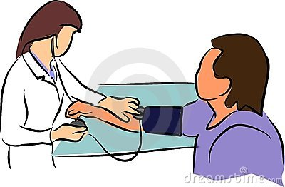 Doctor  and Sphygmomanometer