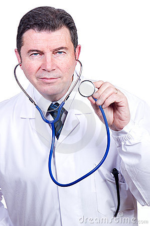 Doctor with stetoscope