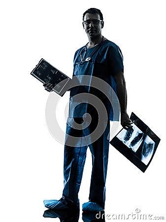 Doctor surgeon radiologist