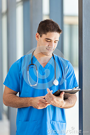 Doctor tablet computer