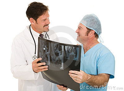 Doctor Thanks Radiologist