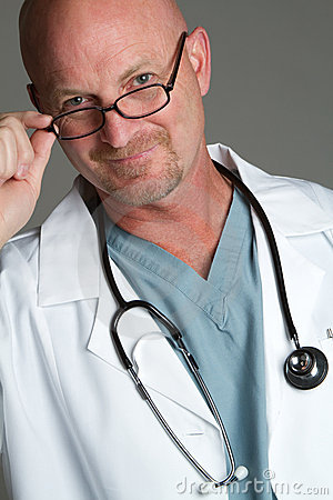Doctor Wearing Glasses