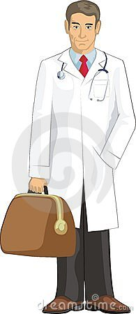 Free Doctor With Bag Royalty Free Stock Images - 13244479