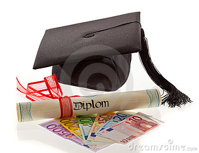 Doctorates euro. Education costs