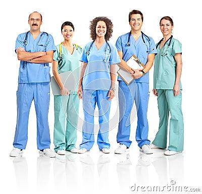Free Doctors And Nurses Royalty Free Stock Photos - 9460998
