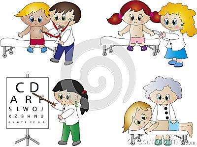 Doctors cartoon