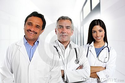 Doctors multiracial expertise indian