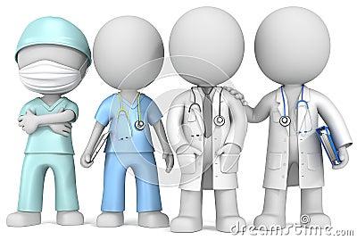 Doctors and Nurse.