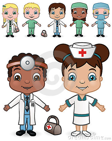 Doctors and Nurses set 2