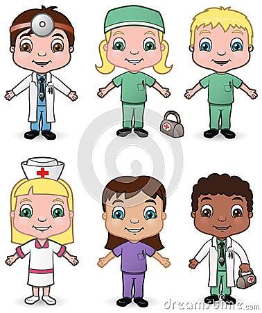 Doctors and Nurses set 3