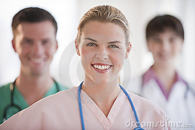Doctors Smiling at Camera