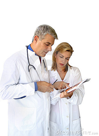 Free Doctors Team Royalty Free Stock Photography - 268017