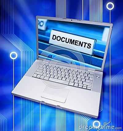 Documents Digital Files Computer