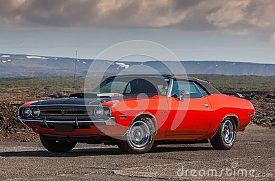1970 Dodge Challenger R/T Editorial Image