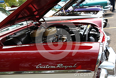 Dodge Custom Royal Editorial Stock Image