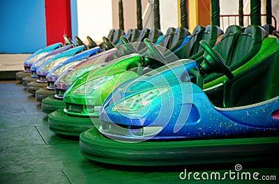 Dodgem bumper cars