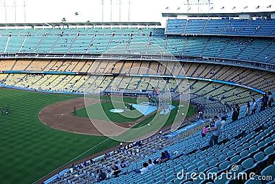 Dodger Stadium - Los Angeles Dodgers Editorial Stock Image