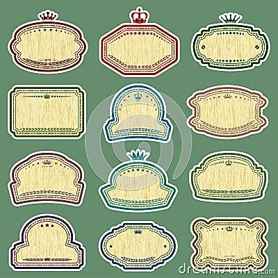 Dodici etichette di lerciume