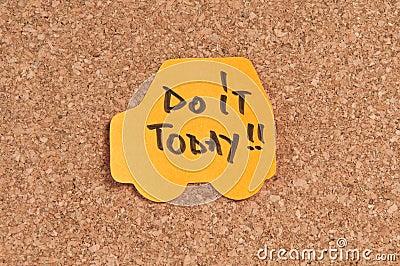 Doe vandaag het
