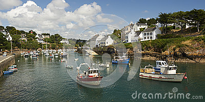 Doelan port le pouldu in brittany