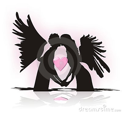 When does angel fall in love