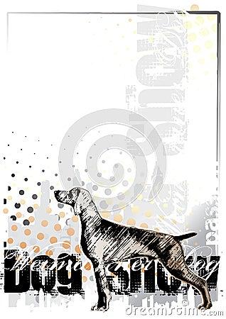 Dog background 1