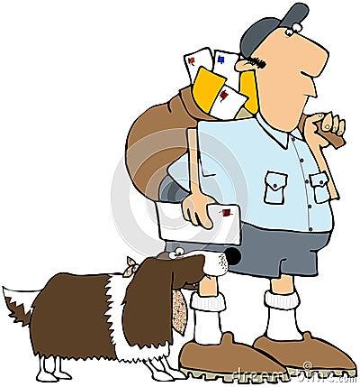 Dog Biting A Mailman