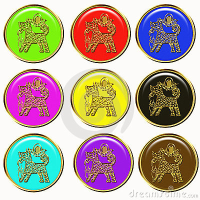 Dog chinese horoscope symbol