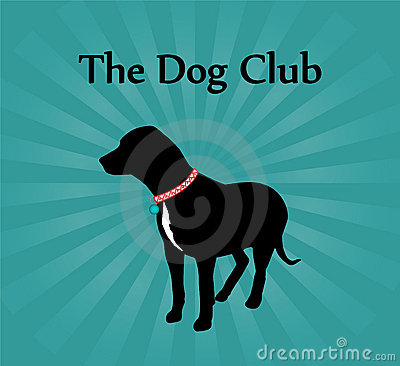 The Dog Club Sign