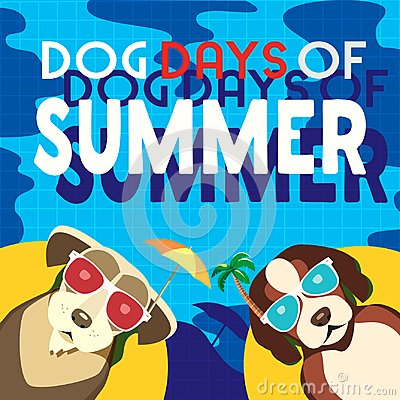 Free Dog Days Of Summer Stock Photos - 116898793