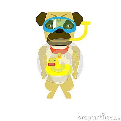 Dog diver
