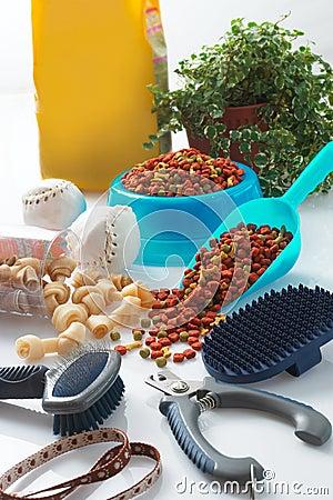 Free Dog Grooming Tools Stock Photo - 21576790
