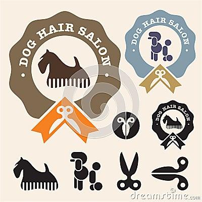 Dog hair salon