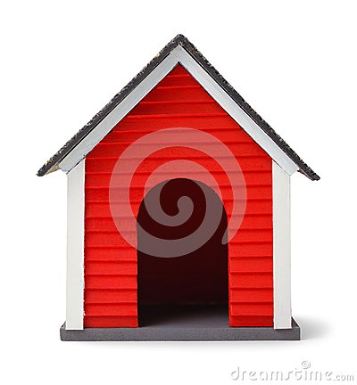 Free Dog House Front Royalty Free Stock Image - 101441326