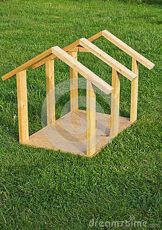 Dog House Wood Frame