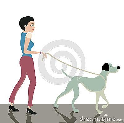 Dog leash.