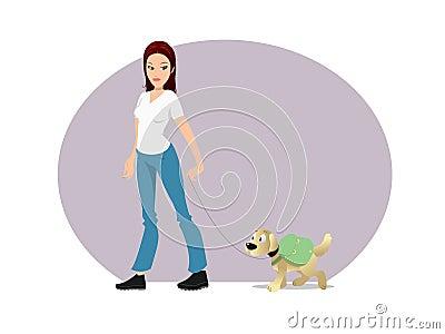 Dog owner backpack