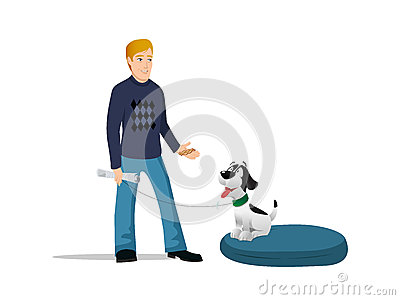 Dog Owner Bed