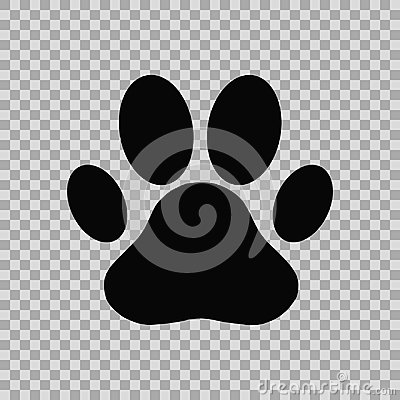 Free Dog Paw Print Stock Images - 105964144