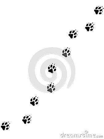 Free Dog Pawprints 2 Stock Photos - 382593