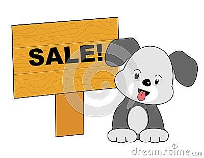 Dog sale