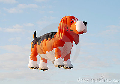 Dog shaped balloon