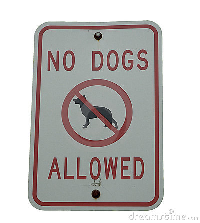 Free Dog Sign Royalty Free Stock Photography - 17217