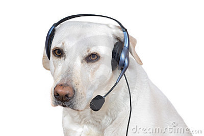 Dog support operator
