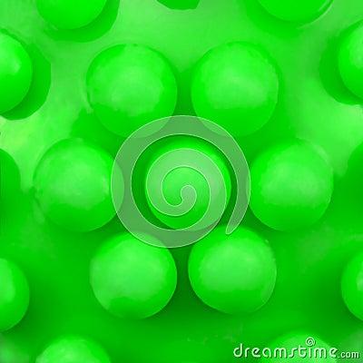 Free Dog Teeth Massage Toy Ball Knobs Pattern, Large Deailed Green Macro Closeup Royalty Free Stock Photos - 55874578