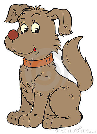 Dog (vector clip-art)