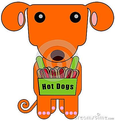 Dog vendor