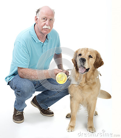 Dog won a golden medal